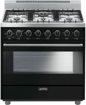 Smeg Classic Design C36GGNU - Black