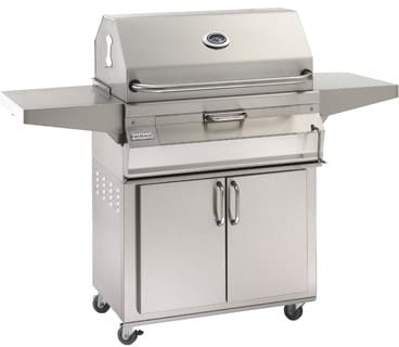 Fire Magic Charcoal Legacy Collection 22S101C61 - 22S Freestanding Charcoal Grill with Smoker Hood