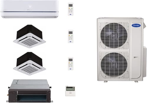 Carrier Performance Series CA36K97 - System Configuration