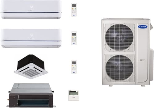 Carrier Performance Series CA36K166 - System Configuration