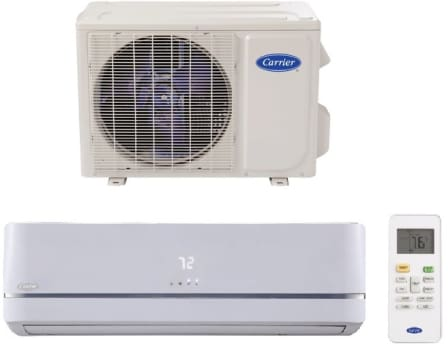 Carrier Performance Series MAQB12B1 - Carrier High-Wall Single Zone Mini Split Air Conditioning System with Heat Pump