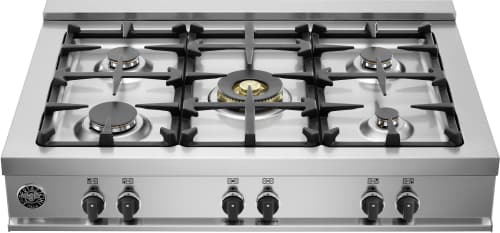 "Bertazzoni Master Series CB36M500XLP - 36"" Gas Rangetop with 5 Sealed Burners"
