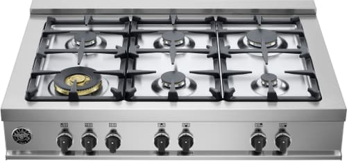 "Bertazzoni Master Series CB36M600X - 36"" Gas Rangetop with 6 Sealed Burners"