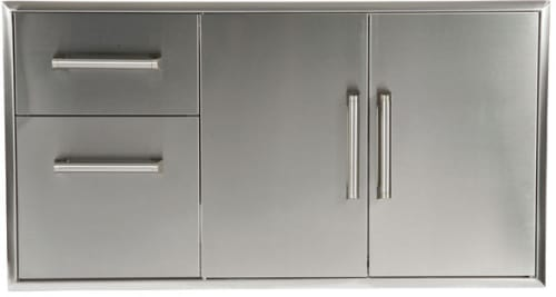 Coyote Ccd2dc 2 Drawer Cabinet Plus Double Access Doors