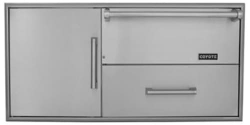 Coyote CCDWD - Warming Drawer Plus Pull Out Drawer