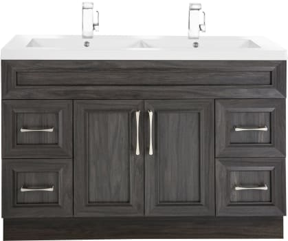 Cutler Kitchen Bath Clic Cckatr48dbt 48 Inch Freestanding Double Bowl