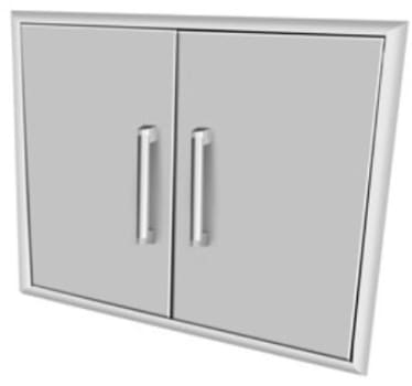"Coyote CDA2431 - 31"" Double Access Doors"