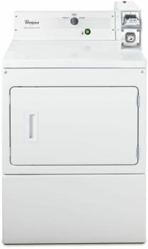 "Whirlpool Commercial Laundry CEM2763BQ - 27"" Commercial Electric Dryer"