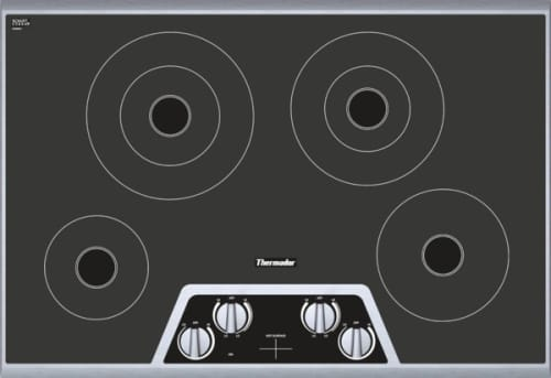 "Thermador Masterpiece Series CEM304NS - 30"" Electric Cooktop"