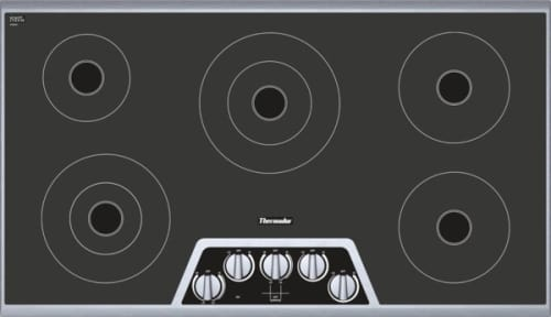 "Thermador Masterpiece Series CEM365NS - 36"" Electric Cooktop"