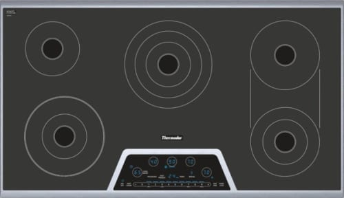 "Thermador Masterpiece Series CET366NS - 36"" Electric Cooktop"