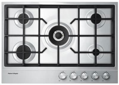 "Fisher & Paykel CG305DX1 - 30"" Gas on Steel Cooktop"