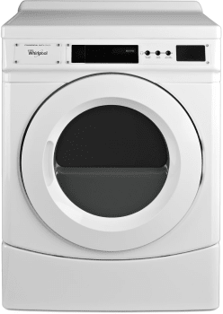 Whirlpool CED9160GW - Front View