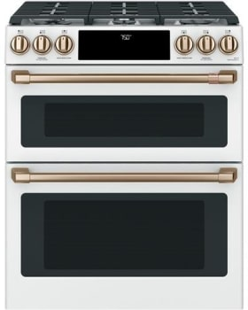 Cafe CGS750P4MW2 - Matte White with Brushed Bronze Hardware (Standard)