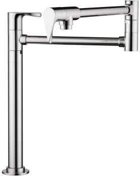 Hansgrohe Axor Citterio Series 39838001 - Chrome Front View