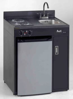avanti ck30b1 30 inch compact kitchen with 2 electric heating