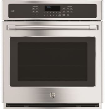 "GE Cafe Series CK7000SHSS - GE Cafe Series 27"" Built-In Single Convection Wall Oven"
