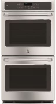 "GE Cafe Series CK7500SHSS - GE Cafe Series 27"" Built-In Double Convection Wall Oven"