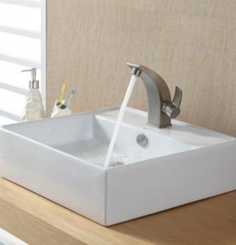 Kraus Illusio Series CKCV15014701BN - Brushed Nickel Faucet