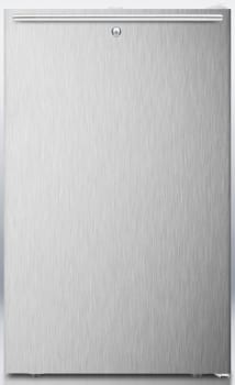 AccuCold CM411LBISSHH - Stainless Steel Door with Horizontal Handle