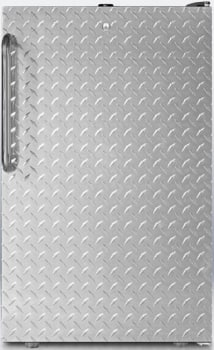 AccuCold CM421BLBI7DPLADA - Diamond Stainless Door
