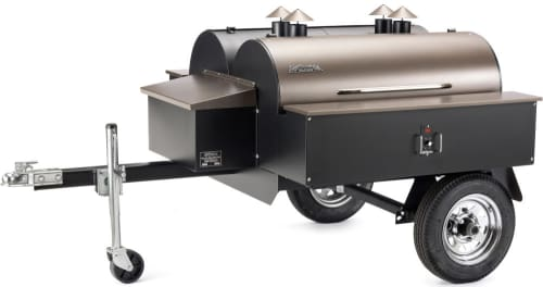 Traeger Commercial Series COM190 - Traeger's Double Commercial Trailer Wood Pellet Grill