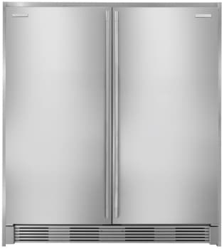 Electrolux ECP7272SS - All-Refrigerator and All-Freezer with Double Collar Trim