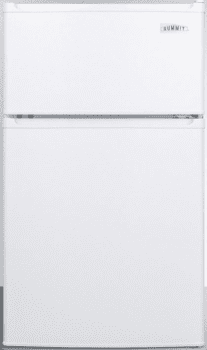 "Summit CP351WH - 19"" Undercounter Top Freezer Refrigerator"