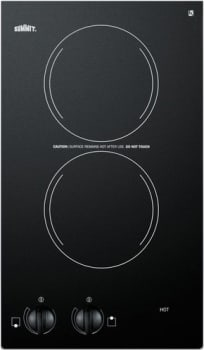 Summit CR2110 - Two-burner 115V electric cooktop from Summit