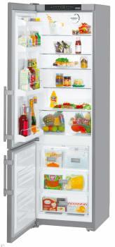 Liebherr CS1350BL - 19.2 cu. ft. Freestanding Bottom Freezer Refrigerator with 4 Glass Shelves, 4 Door Bins, Ice Maker, Energy Star Rating and FrostSafe System
