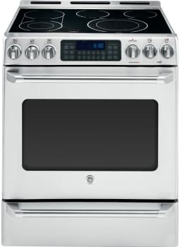 "GE Cafe Series CS980STSS - 30"" GE Cafe Series Slide-In Front Control Convection Range with Baking Drawer"