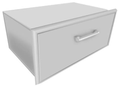 Coyote CSSD - Single Storage Drawer