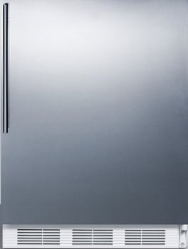 "Summit CT661BISSHV - 24"" Compact Refrigerator with 5.1 cu. ft. Capacity"