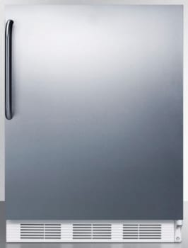 AccuCold CT66JBISSTB - Stainless Steel with Towel Bar Handle