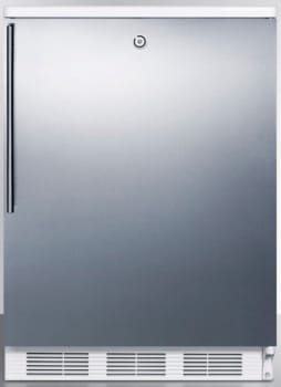 AccuCold CT66LBISSHV - Stainless Door with Vertical Thin Handle