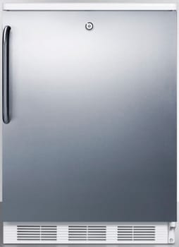 AccuCold CT66LBISSTB - Stainless Door with Pro Handle