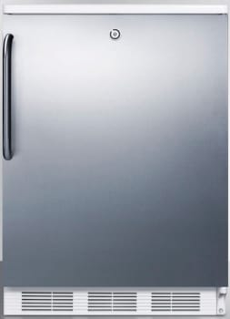 AccuCold CT66LSSTB - Stainless Door with Pro Handle