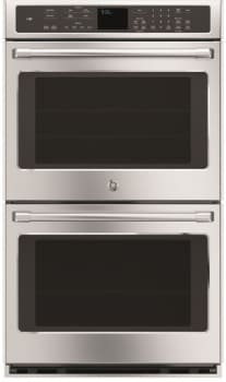 "GE Cafe Series CT9550SHSS - GE Cafe Series 30"" Built-In Convection Double Wall Oven"