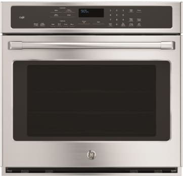 "GE Cafe Series CT9050SHSS - GE Cafe Series 30"" Built-In Convection Single Wall Oven"