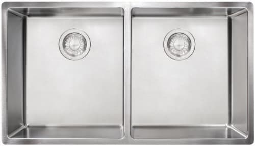 "Franke CUX120 - 30"" Undermount Double Bowl Sink"