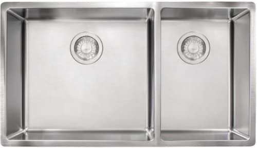 "Franke CUX160 - 30"" Undermount Double Bowl Sink"