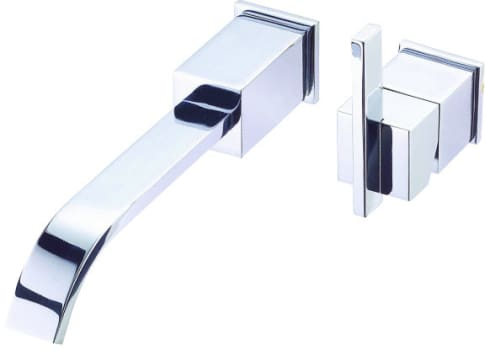 Danze D216144t Single Handle Wall Mount Bathroom Faucet With 10