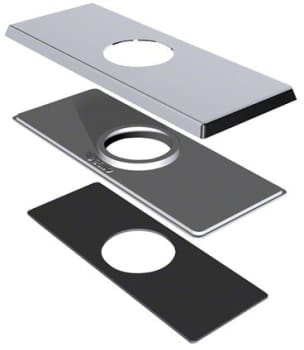 "Danze® DA607568BN - 4"" Center Set Square Cover Plate for 3-Hole Mounts"