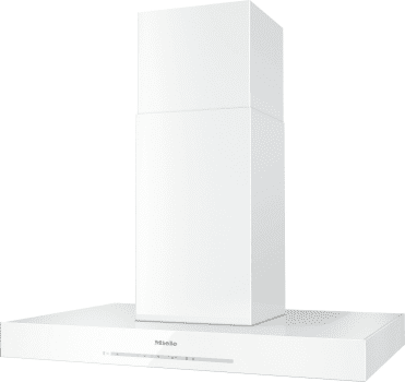 "Miele DA6690DBRWS - 36"" Island Chimney Hood in Brilliant White"