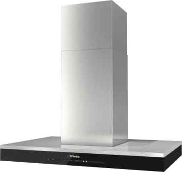 "Miele DA6690D - 36"" Puristic Island Ventilation Hood in Clean Touch Steel by Miele"