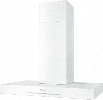 "Miele DA6690WBRWS - 36"" Wall Mount Chimney Hood in Brilliant White"