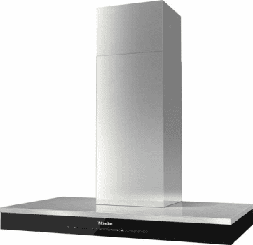 "Miele DA6690W - 36"" Wall Mount Chimney Hood in Stainless Steel"