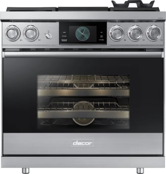 Dacor Modernist DOP36M94DAS - Stainless Steel Front View