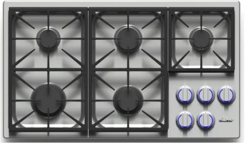 Dacor Discovery DYCT365GSLPH - 5-Burner Gas Cooktop in Stainless Steel