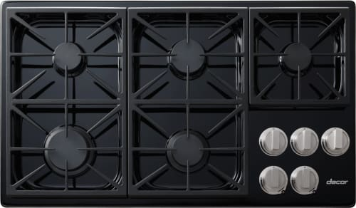 Dacor Discovery DYCT365GBNG - 5-Burner Gas Cooktop in Black